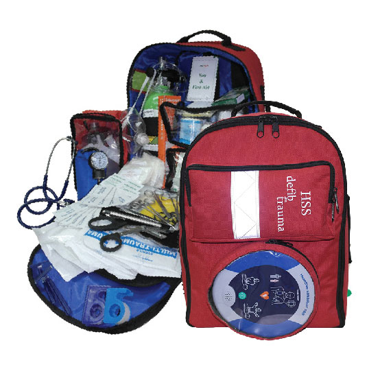 Professional Trauma Bag (Backpack)